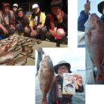 日本海完全フカセで良型真鯛!