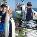 船太刀魚テンヤ (泉佐野 ふどう丸)