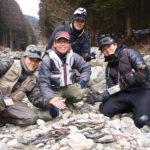 奈良県天川村のアマゴの渓流釣り
