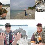 淡路島 吹上浜のチヌ渚釣り