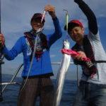 大阪湾太刀魚ジギング