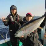 串本のキハダ釣り