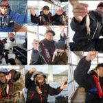 冬の風物詩ワカサギ釣り 東条湖