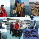 岡山県 下津井沖でヒラメのませ釣り