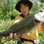 淡路島のダムへバス釣りに行ってきました!