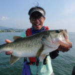 琵琶湖ボートで巻きキャロ&巻きジグ!
