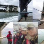 下津井岩黒島にてショアラバ釣りに行ってきました。