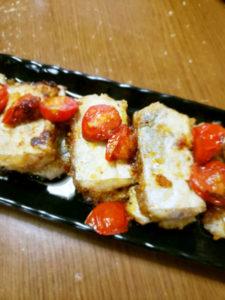 """&太刀魚とトマトのソテー"""""""