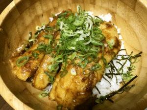 """&太刀魚の甘辛丼"""""""