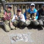 天川の渓流釣り!!