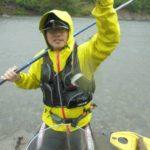 有田川の鮎釣り