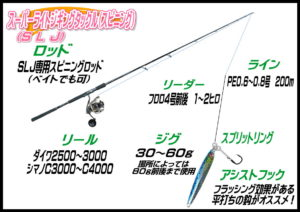 スーパーライトジギング(SLJ)