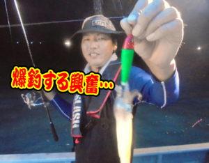鳥取沖 シロイカ釣行!