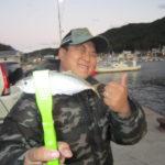 小島漁港でライトゲーム!