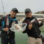 岸和田のプールでニジマス釣り!