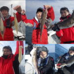 富山湾冬の中深海釣り!