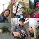 北湖おかっぱり釣行!