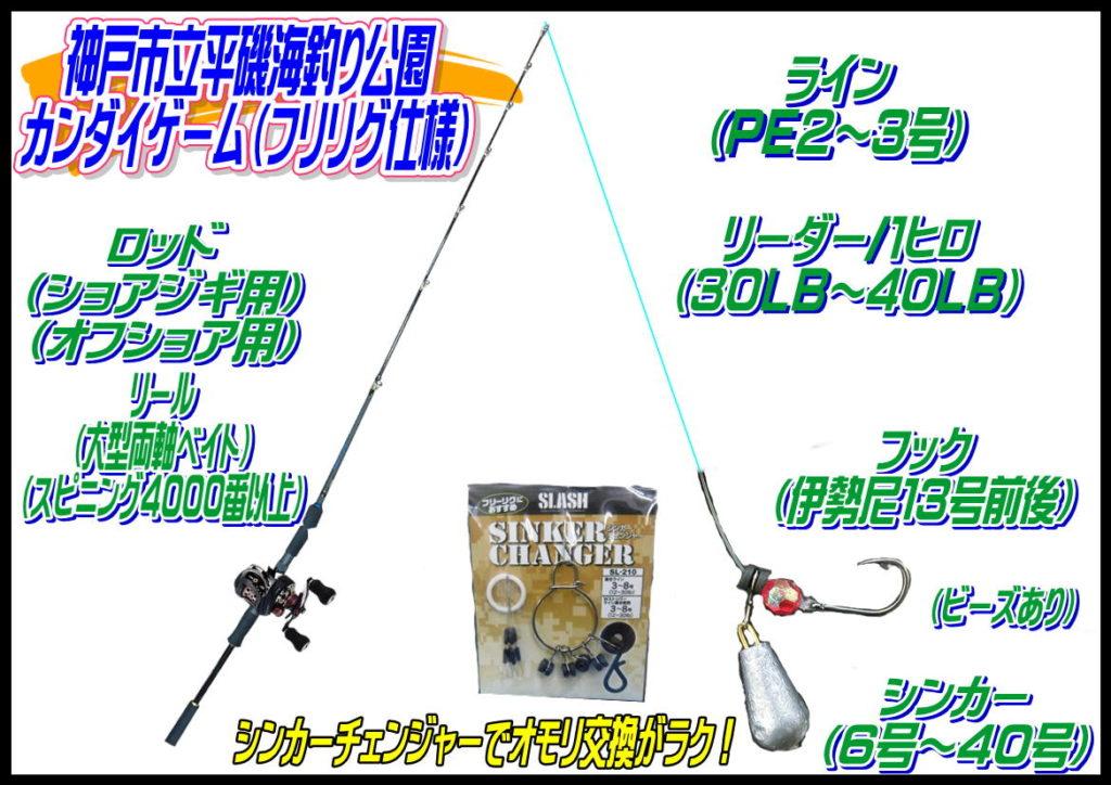 タンコブゲーム(神戸市立平磯海釣り公園)