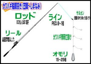 瀬戸内カワハギ(笠岡~しまなみ)