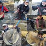 小柿渓谷マス釣り場にてトラウトフィッシング