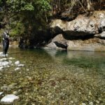 舟ノ川に渓流ルアー釣りに行ってきました!