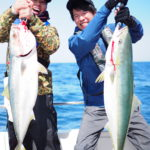 翔舞丸で日本海ジギング!