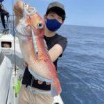 高級魚がいっぱい!いろいろ釣れるスピニング根魚ジギング(スピネギ)